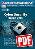 Cyber Security - Report 2016 - PDF