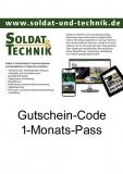Gutschein-Code für einen 1-Monats-Pass und somit Zugang zu allen Inhalten auf www.soldat-und-technik.de